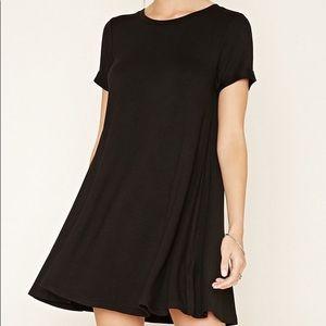 Forever 21 black flows dress